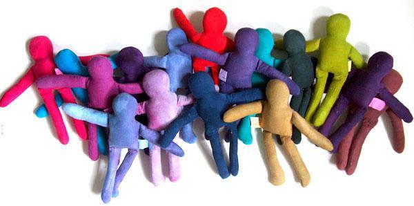 выкройки кукол из ткани