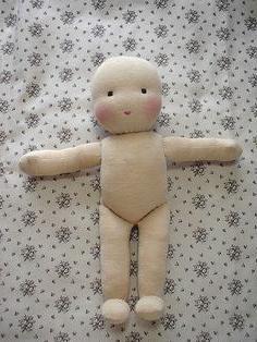 Куклы из капрона своими руками с выкройками