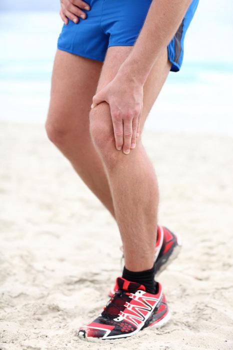 уплотнения в мышцах ног