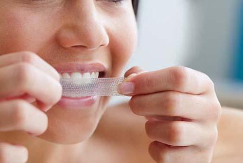 Средства для индивидуального отбеливания зубов