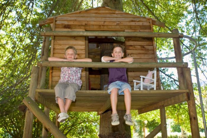 Как сделать мне ребенку дом на дереве 745