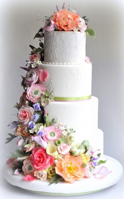 Торт многоярусный
