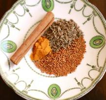 what spices put in pilaf
