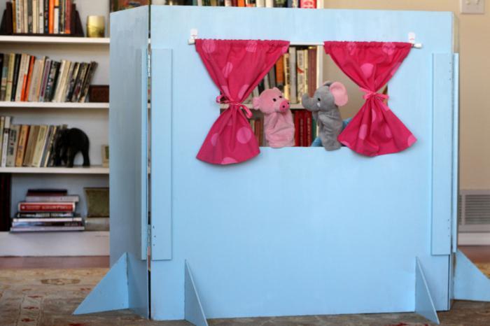 Как сделать ширму для кукольного театра своими руками из пвх труб