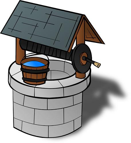 how to draw water from the well to the house