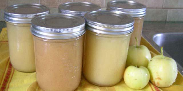 пюре из яблок на зиму рецепты без стерилизации материал