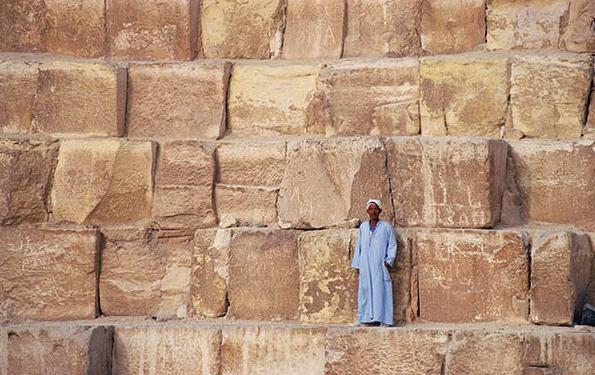 Egypt's history of the pyramids