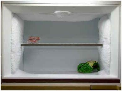 how much to defrost the fridge