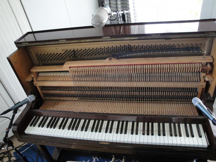 знакомство с инструментом фортепиано