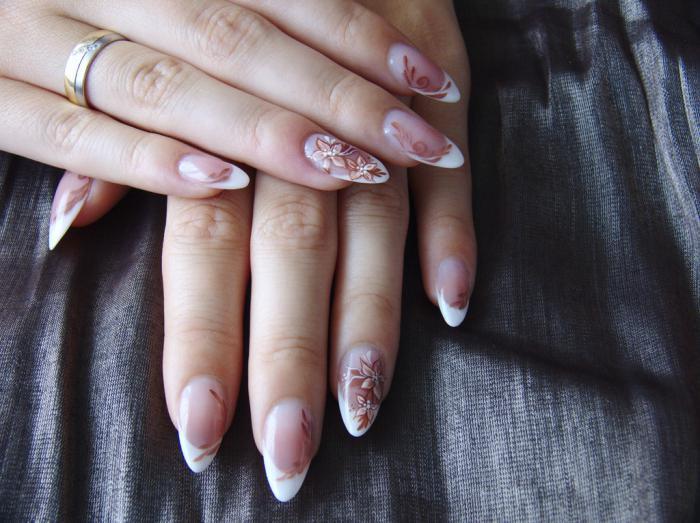 Дизайн ногтей. Квадратная форма