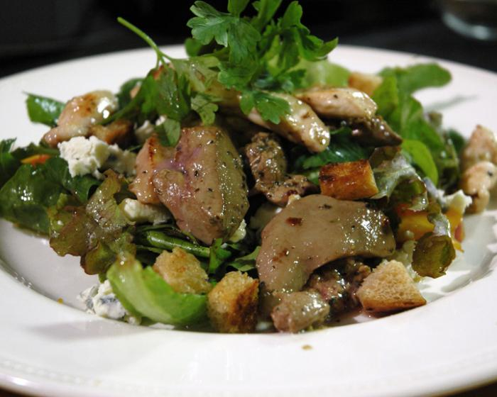 рецепт печеночного салата с фото полностью