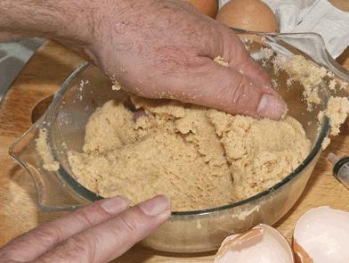 Как сделать из манки тесто на рыбалку