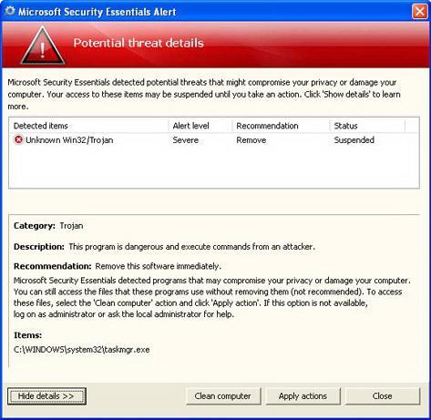 Optimize computer performance, Windows XP