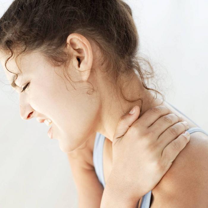 боли мышц шеи