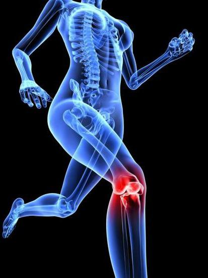 crunch and pain in the knees