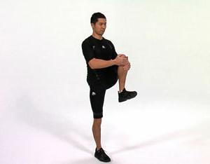 sore knee when flexing