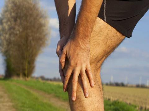 legs hurt below the knees