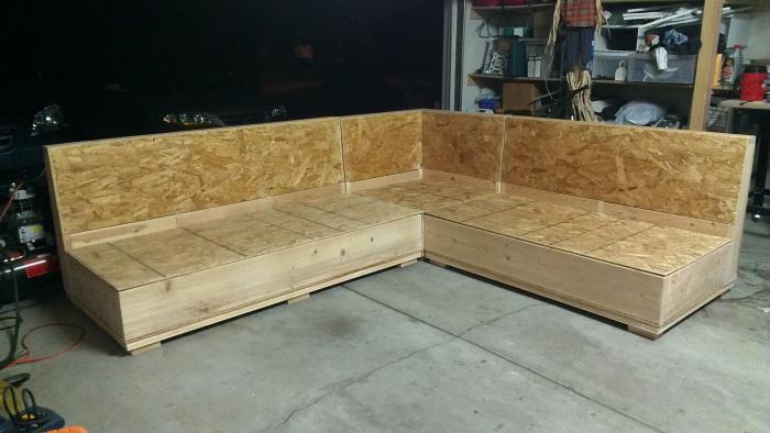Сделать мебель диван своими руками