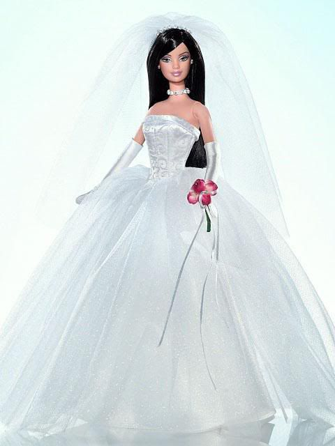 how to sew a wedding dress doll
