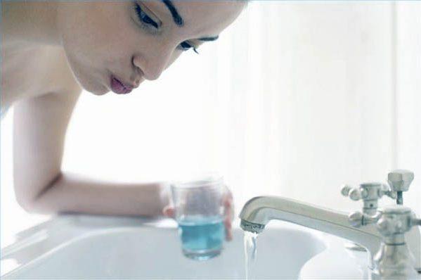 Полоскание горла перекисью водорода при беременности