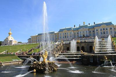 peterhof how to get by shuttle bus