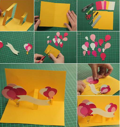 Как сделать открытку своими руками маме на День Рождения 40