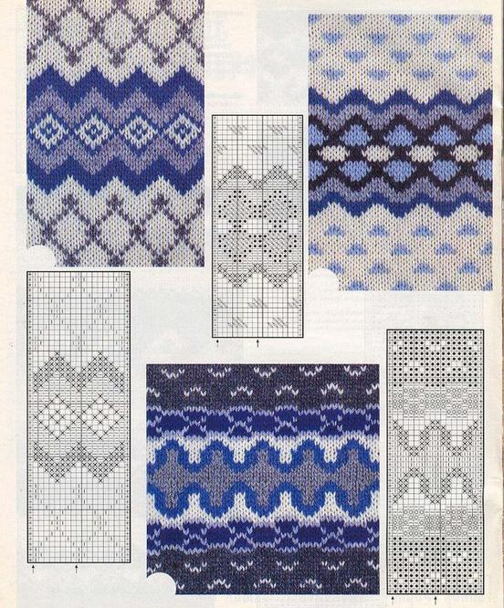 knit socks scheme