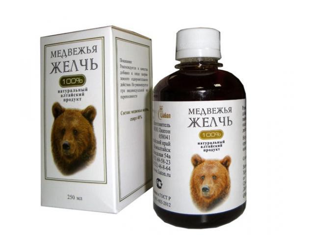 лечение медвежьей желчью