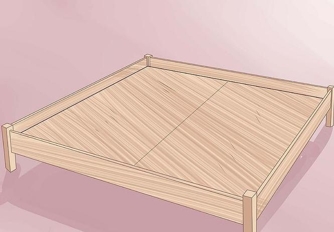 wooden double bed do it yourself
