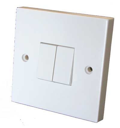 How to connect a double switch