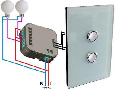 Double switch connection scheme