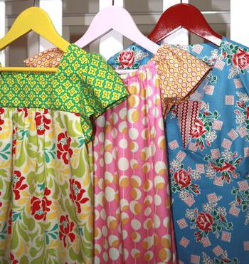 Sew a simple dress without a pattern