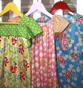 Сшить простое платье без выкройки