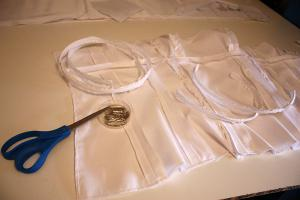 How to sew a dress with your own hands
