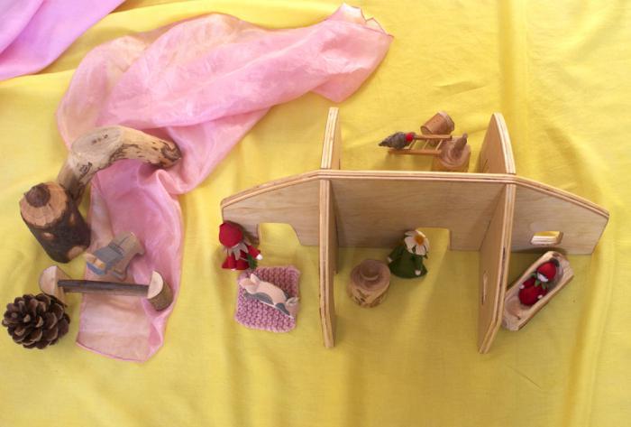 Как сделать дом для кукол своими руками: 3 урока по созданию