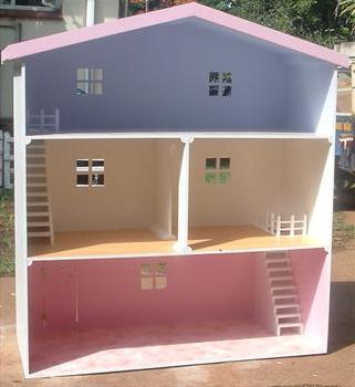 Как сделать крышу кукольному домику
