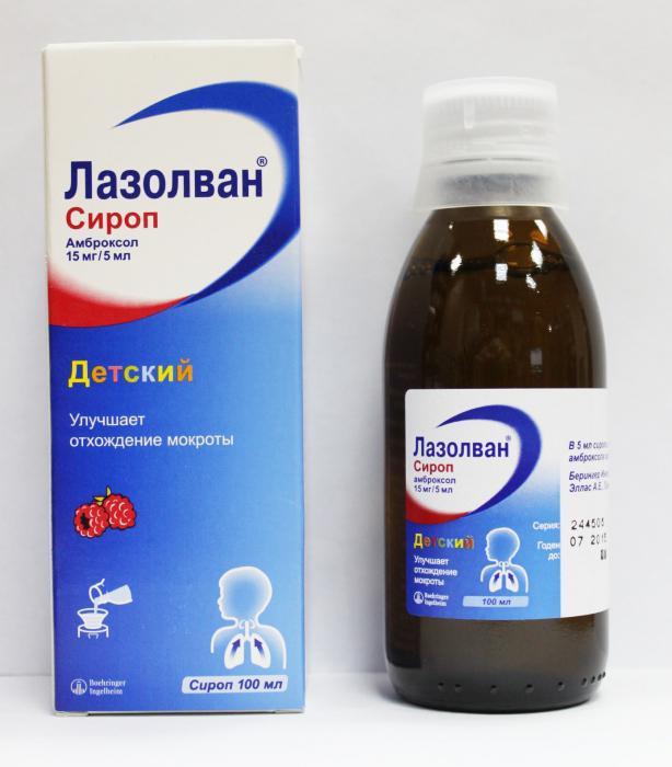 лазолван сироп для детей