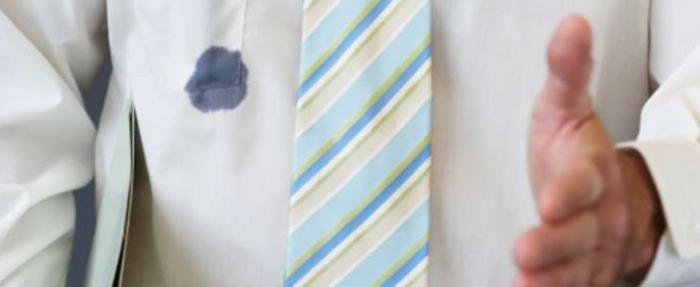 Как вывести ручку с одежды
