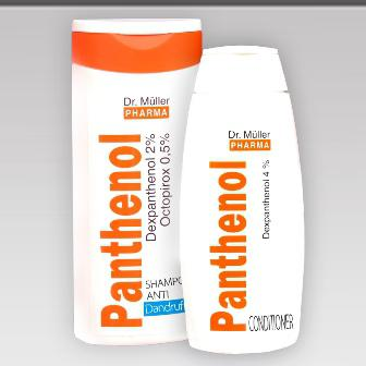 Пантенол крем-пена для волос