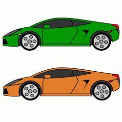 Фото как нарисовать гоночную машину