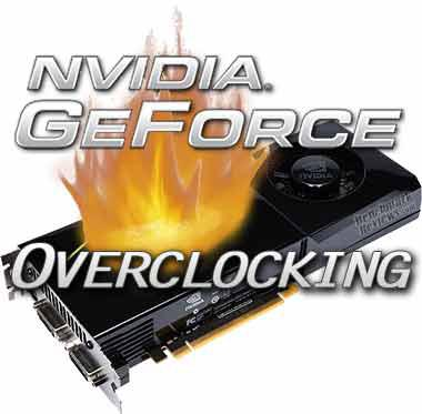 how to overclock nvidia geforce