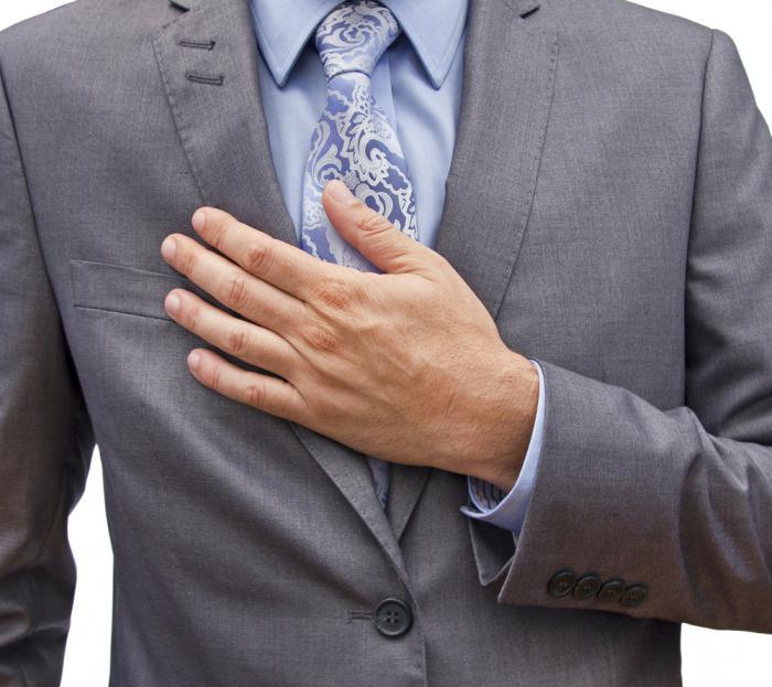 ноющая боль в области сердца