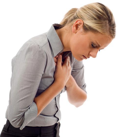 13 причин возникновения боли в области сердца отдающей в спину