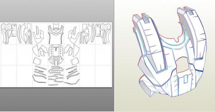 Рука железного человека своими руками чертежи выкройки
