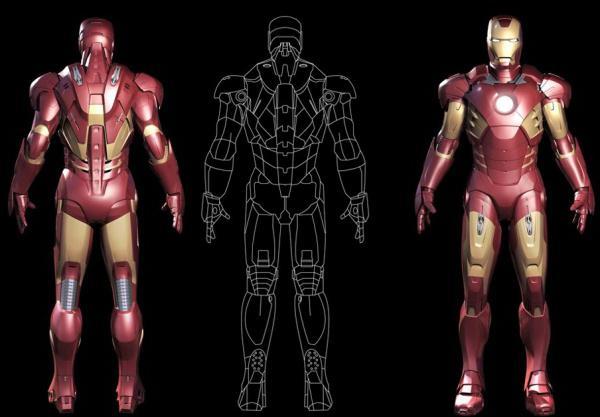 как сделать костюм железного