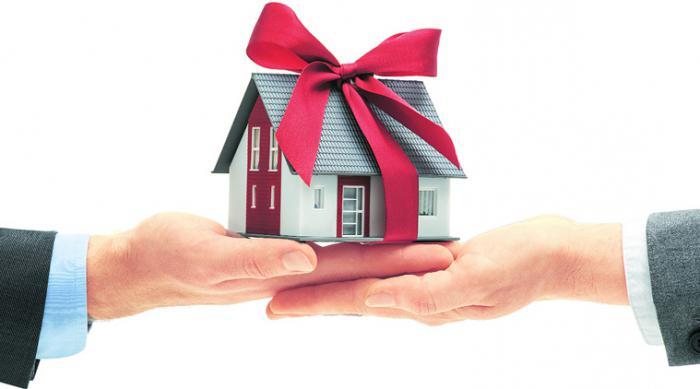 ндфл при дарении недвижимости