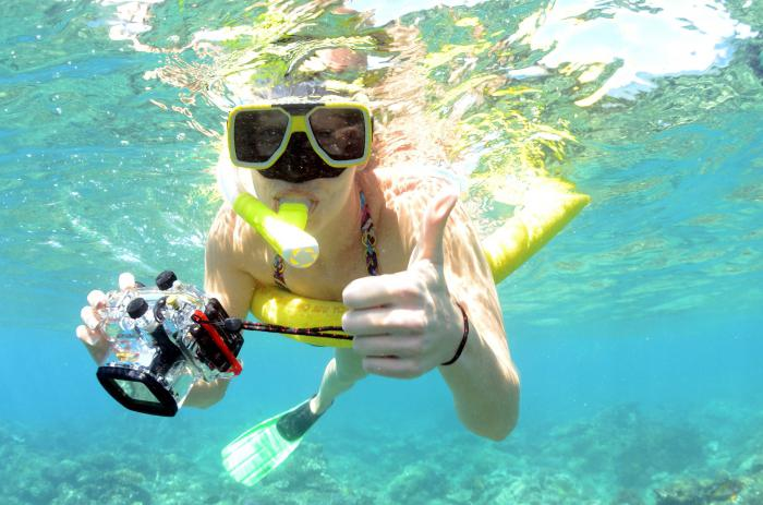 best camera for underwater shooting