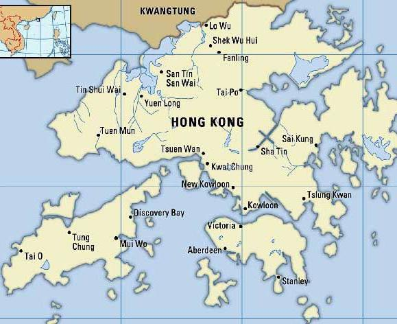 Hong Kong is the capital of which country