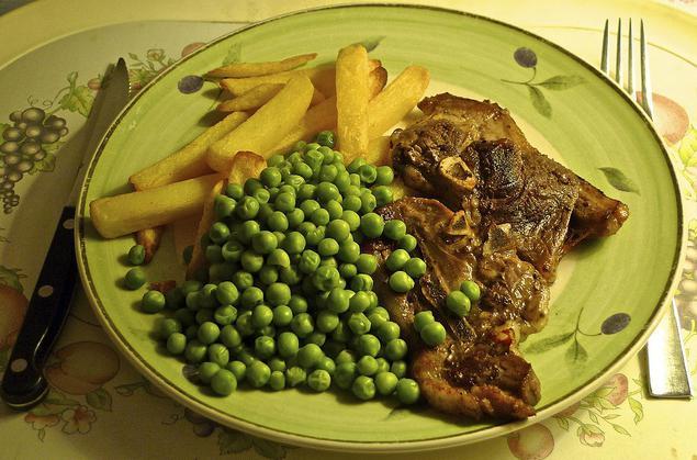 Блюда из сухого гороха рецепты