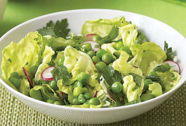 Рецепты салатов из гороха